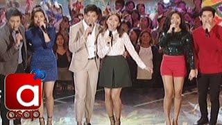 "getlinkyoutube.com-ASAP: KathNiel, LizQuen, JaDine sing ""Thank You For The Love"""