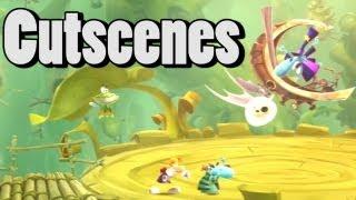 Rayman Legends All Cutscenes (Full Movie) Rayman Legends Cutscenes HD
