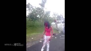 Desgarrador y triste!! este video del accidente ocurrido en Samaná RD