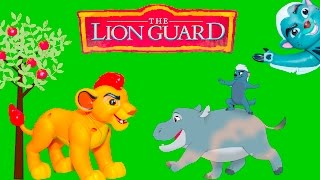 getlinkyoutube.com-LION GUARD Disney Lion Guard Talking Kion Plush a Lion Guard Video Toy Unboxing
