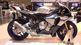 getlinkyoutube.com-2015 Yamaha YZF-R1 M - Walkaround - Debut at 2014 EICMA Milan Motorcycle Exhibition