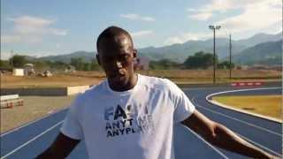 getlinkyoutube.com-Usain Bolt - How To Win The 100m