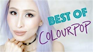 getlinkyoutube.com-Best of Colourpop Cosmetics 2016 Colourpop Collection Eyeshadows & Liquid Lipsticks Swatches