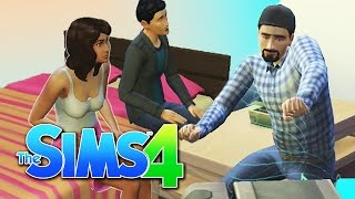 getlinkyoutube.com-ROLANDA, RICHARD, AND ALEX MOVE IN TOGETHER! | The Sims 4 Part 3