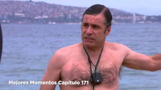 getlinkyoutube.com-Papá a la deriva - Mejores Momentos Capítulo 171