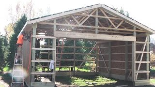 getlinkyoutube.com-DIY Pole Barns Shed/Garage Construction LP SmartSide
