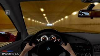 getlinkyoutube.com-Test Drive Unlimited - BMW E36 M3 3.2L Tunnel Fun HD