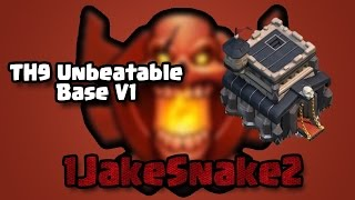 getlinkyoutube.com-Th9 Unbeatable Base!! | Anti Gowipe | Anti Lavaloonion | Anti Dragon | Anti Gowiwi