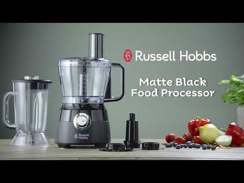 Russell Hobbs Desire Food Processor Matte Black - RHFP5BLK