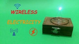 getlinkyoutube.com-How To Make Wireless Electricity Transmission Circuit - DIY (Step By Step)