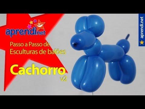 Aprendi.net: Esculturas de Balões - Cachorro - v2
