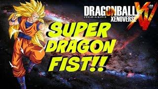 getlinkyoutube.com-Dragon Ball Xenoverse- How to Get Super Dragon Fist- Melee Base Attack
