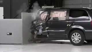 The Worst ever seen on Minivan Crash Test 2014