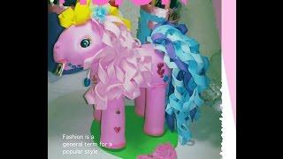 getlinkyoutube.com-DIY Como Hacer Fofucho Pony letters