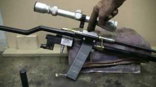 getlinkyoutube.com-DIY Semi Auto Air Rifle Made With QEV