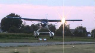 getlinkyoutube.com-DeHavilland Turbo Beaver DHC-2 MK.III  Landing CSU3