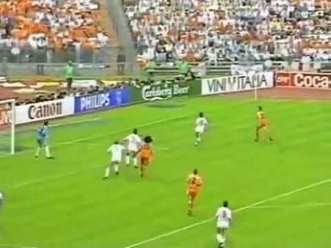 Marco Van Basten Goal for Holland in Euro 1988 Final