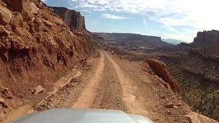 getlinkyoutube.com-Driving the Shafer Trail Road - Canyonlands National Park, Utah