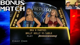 getlinkyoutube.com-Bonus Match: WWE SmackDown! Vs. Raw: Bra & Panties Match