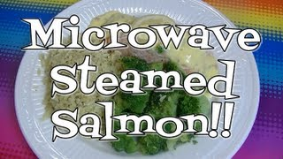 getlinkyoutube.com-Fast and Delicious, Microwave Steamed Salmon!  Noreen's Kitchen
