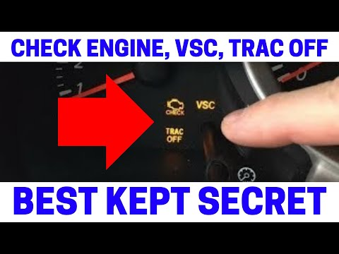 (Part 1) How To Fix Your Check Engine, VSC, Trac Off Warning Lights On