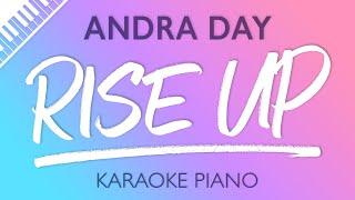 Rise Up (Piano Karaoke Instrumental) Andra Day