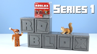 getlinkyoutube.com-ROBLOX Series 1 Mystery Boxes Figures from Jazwares