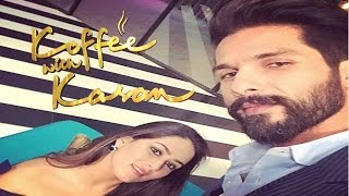 getlinkyoutube.com-Koffee With Karan Season 5 - Shahid Kapoor And Mira Rajput