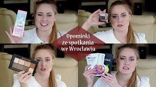 getlinkyoutube.com-Prezenty ze spotkania blogerek i vlogerek we Wrocławiu