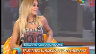 getlinkyoutube.com-Claudia Ciardone en Intrusos adelanta GH 2015