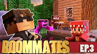 "Minecraft ROOMMATES! ""SKY GOES VIRAL"" S3 #3 (Minecraft Roleplay Show)"