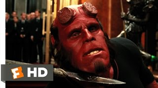 getlinkyoutube.com-Hellboy 2: The Golden Army (8/10) Movie CLIP - Prince Nuada vs. Hellboy (2008) HD