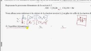 31-Relation entre constantes de vitesse et d'équilibre
