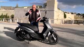 getlinkyoutube.com-Piaggio Beverly Test Ride