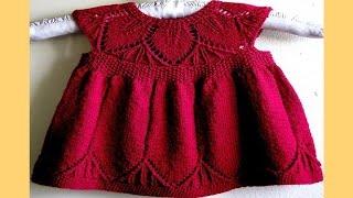 getlinkyoutube.com-Vestido Para Niña Tejidos a Crochet