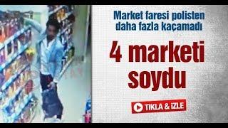 Sakarya'da market faresi polisten daha fazla kaçamadı
