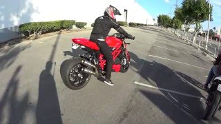 Ducati Streetfighter 848 exhaust sound