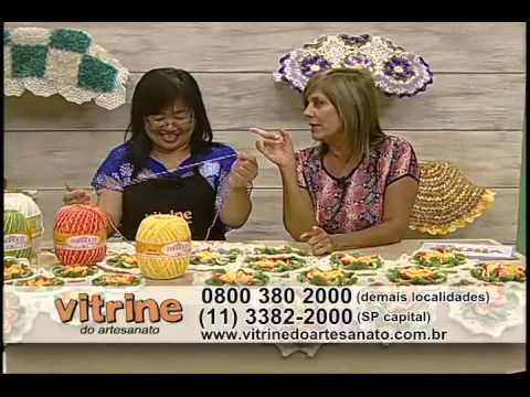 Flores com Cristina Luriko - Vitrine do Artesanato na TV
