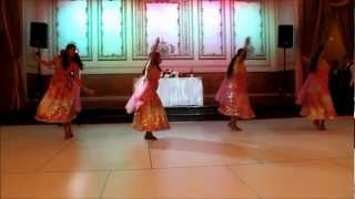 getlinkyoutube.com-Indian Wedding Dance Performance ft. Bollywood Bombshellz