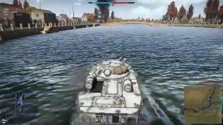 getlinkyoutube.com-War Thunder - Kill from my small boat PT-76 in top tier