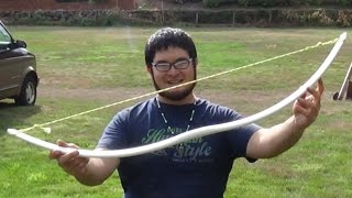 getlinkyoutube.com-Making a Gull Wing Style PVC Bow in Under 20 Minutes at the Sammamish Knapp In