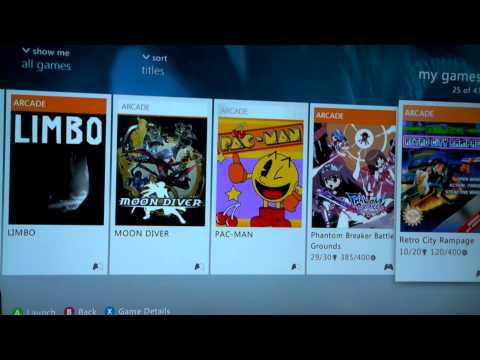 My Xbox Live Arcade Game Collection (XBLA)
