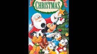 Opening to A Walt Disney Christmas 2000 VHS