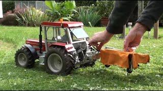 getlinkyoutube.com-The Smallest Lawn Mower Tractor!!!