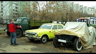 getlinkyoutube.com-Забытые автомобили в Чертаново / Abandoned  Russian cars in Moscow #6