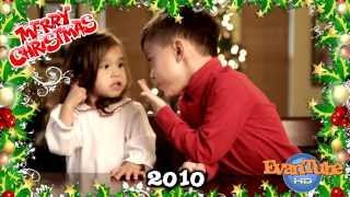 getlinkyoutube.com-Christmas Flashback - Evan & Jillian sing Christmas Carols