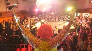 getlinkyoutube.com-Ronald McDonald WWE Beatdown 2