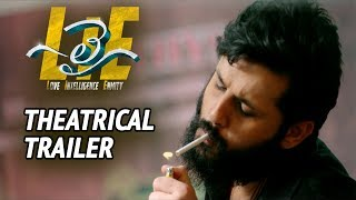 #LIE Movie Theatrical Trailer - Nithiin, Arjun, Megha Akash | Hanu Raghavapudi