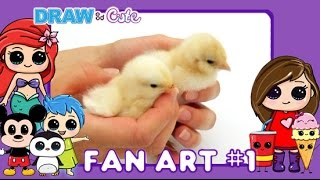 Draw So Cute Fan Art #1 How to Draw Cute characters easy