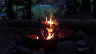 getlinkyoutube.com-Relax by a Campfire Beside a River Deep in the Mountains - One Hour
